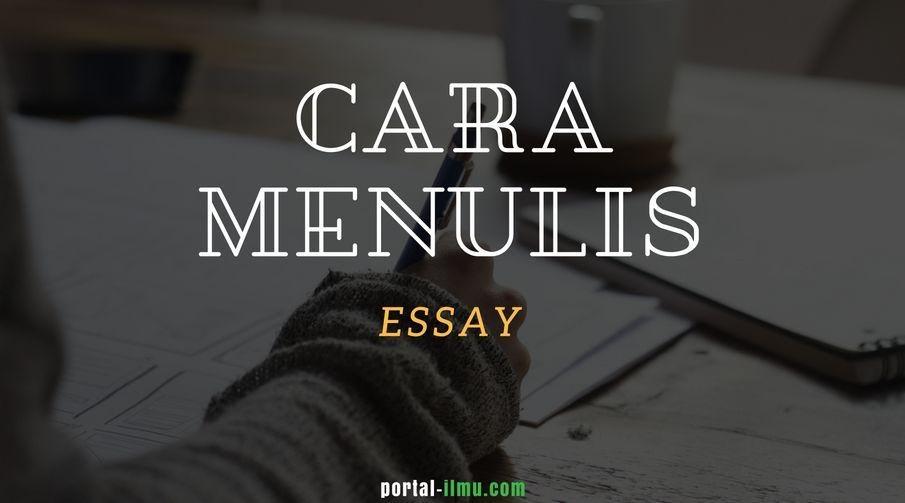 Memilih layanan penulis esai terbaik